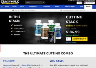 CrazyBulk's Cutting Stack Shop