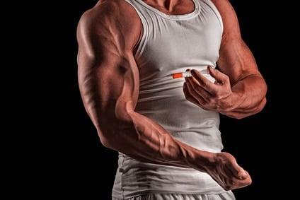 Anabolic steroids effectively build muscle mass and endurance by tricking the human body, but they have harsh side effects.