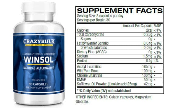 Winsol Ingredients